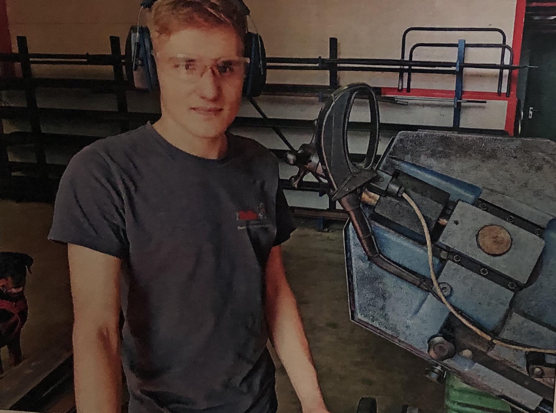 Bolte Metallbau GmbH - Auszubildender Ramon Falkowski